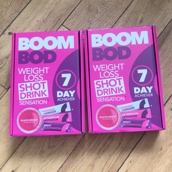Boom bod weight loss shot drinks