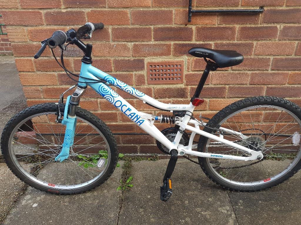 Oceana 24inch wheel and frame girls bike