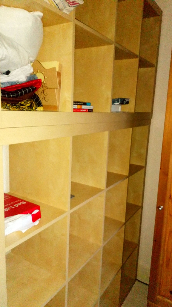 2 shelving units - separate or together