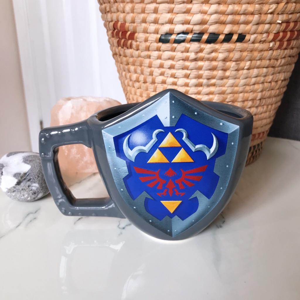 Nintendo Legend of Zelda Hylian Shield Mug // Brand New
