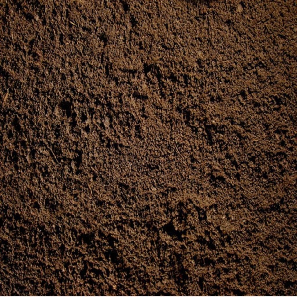 Screened top soil