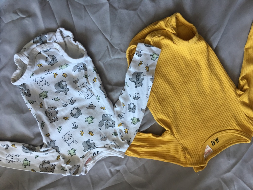11 long sleeve baby vests 3-6 months