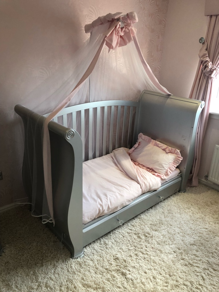 Cot and matching furniture