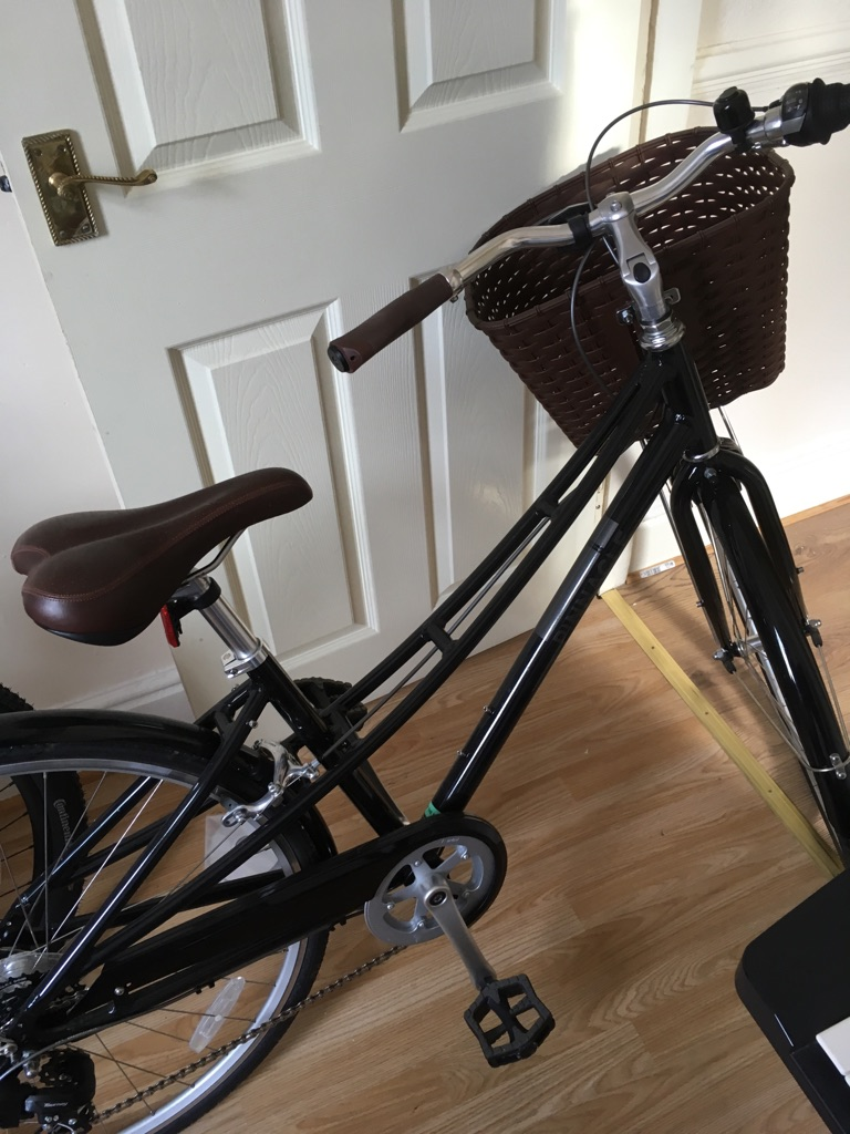 Woman's Hybrid Bike with Basket