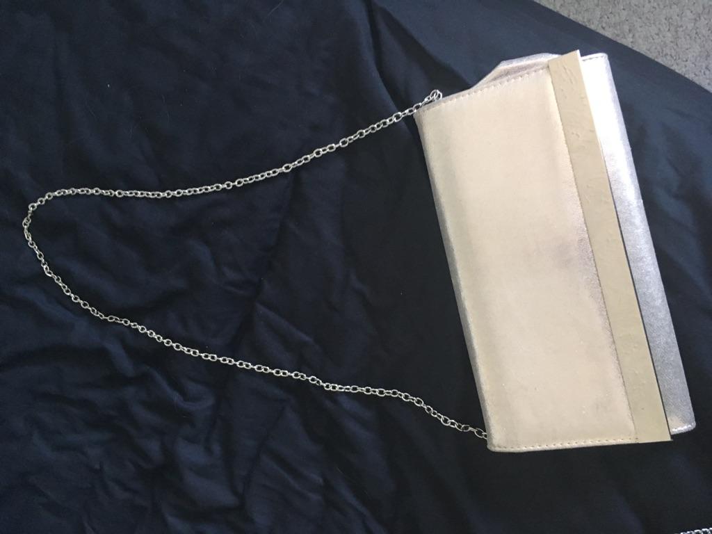 Gold/silver shimmer bag