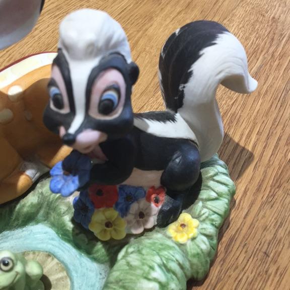 Vintage ceramic Walt Disney Bambino's Figurines