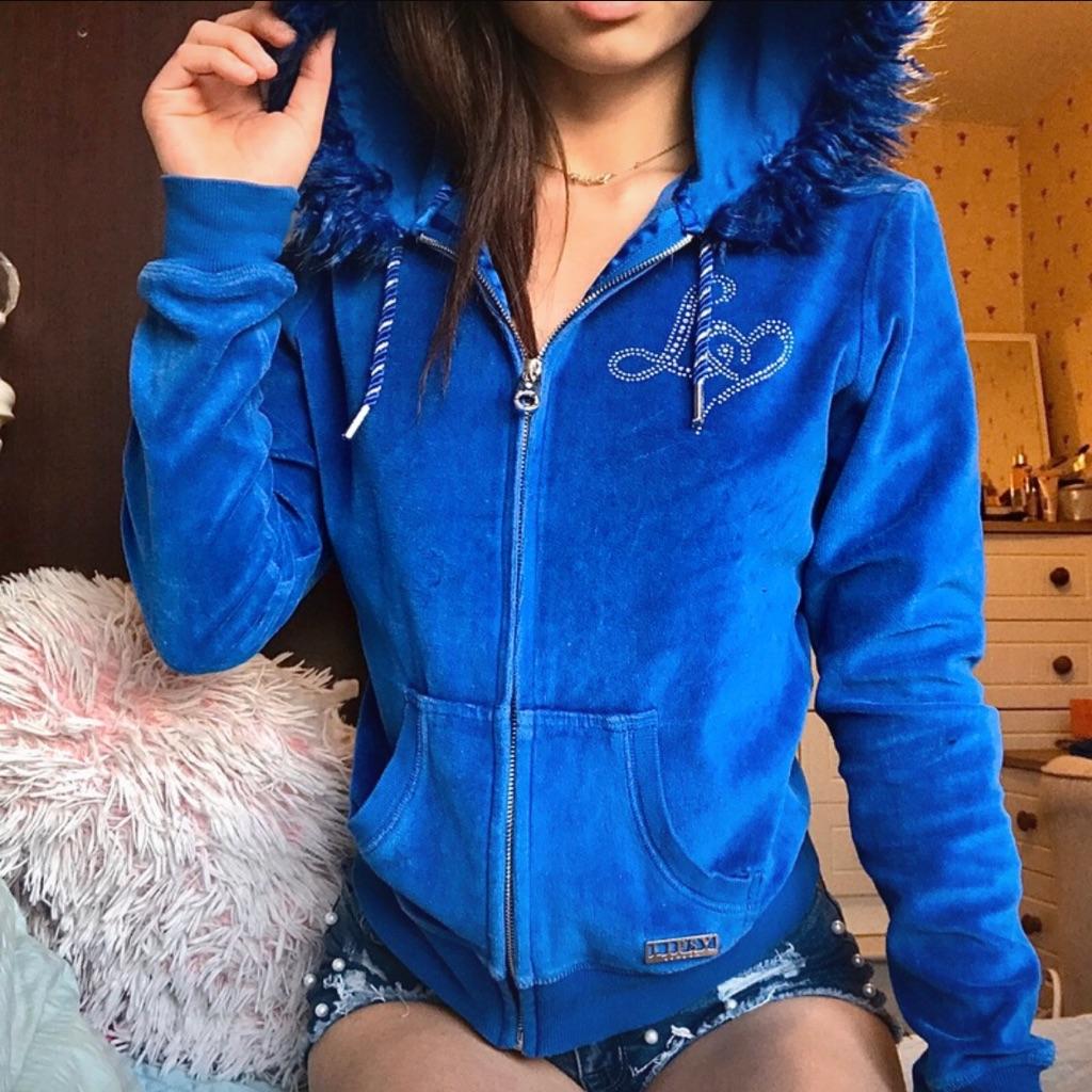 Blue lipsy tracksuit jacket