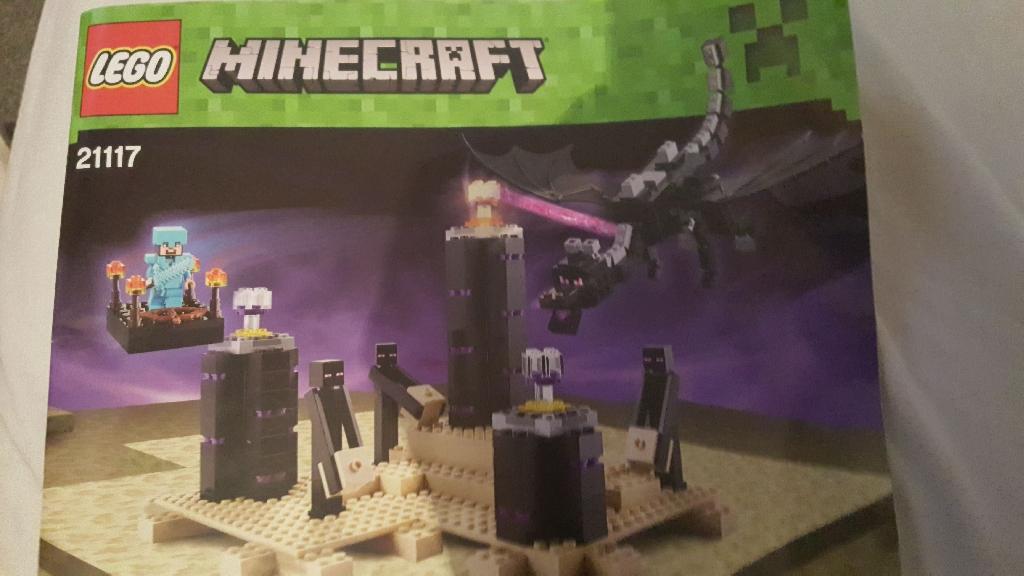 minecraft lego 21117