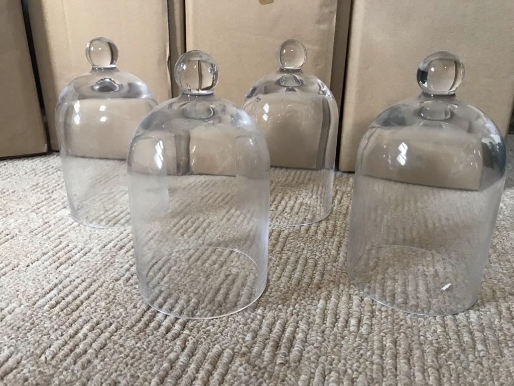 Glass bell jars- wedding decorations