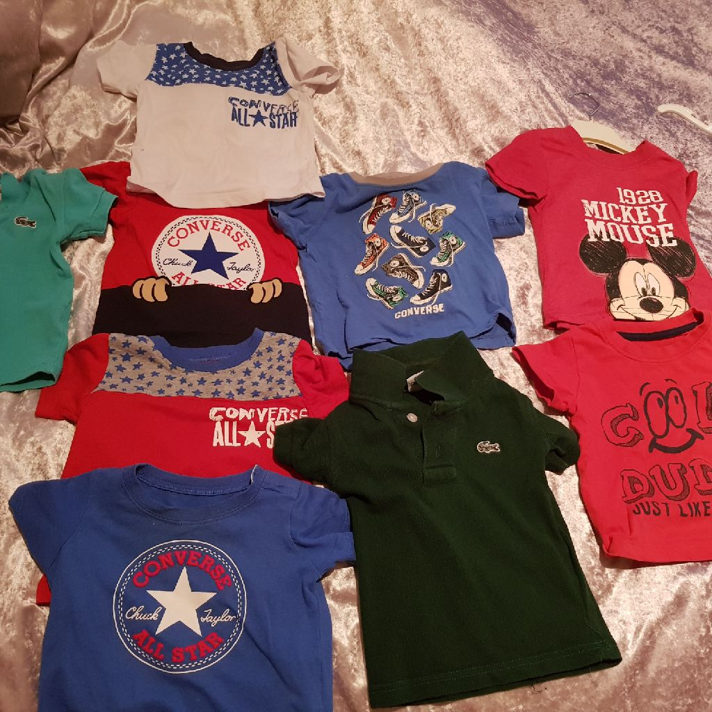 Boys 9 to 12 months t shirts