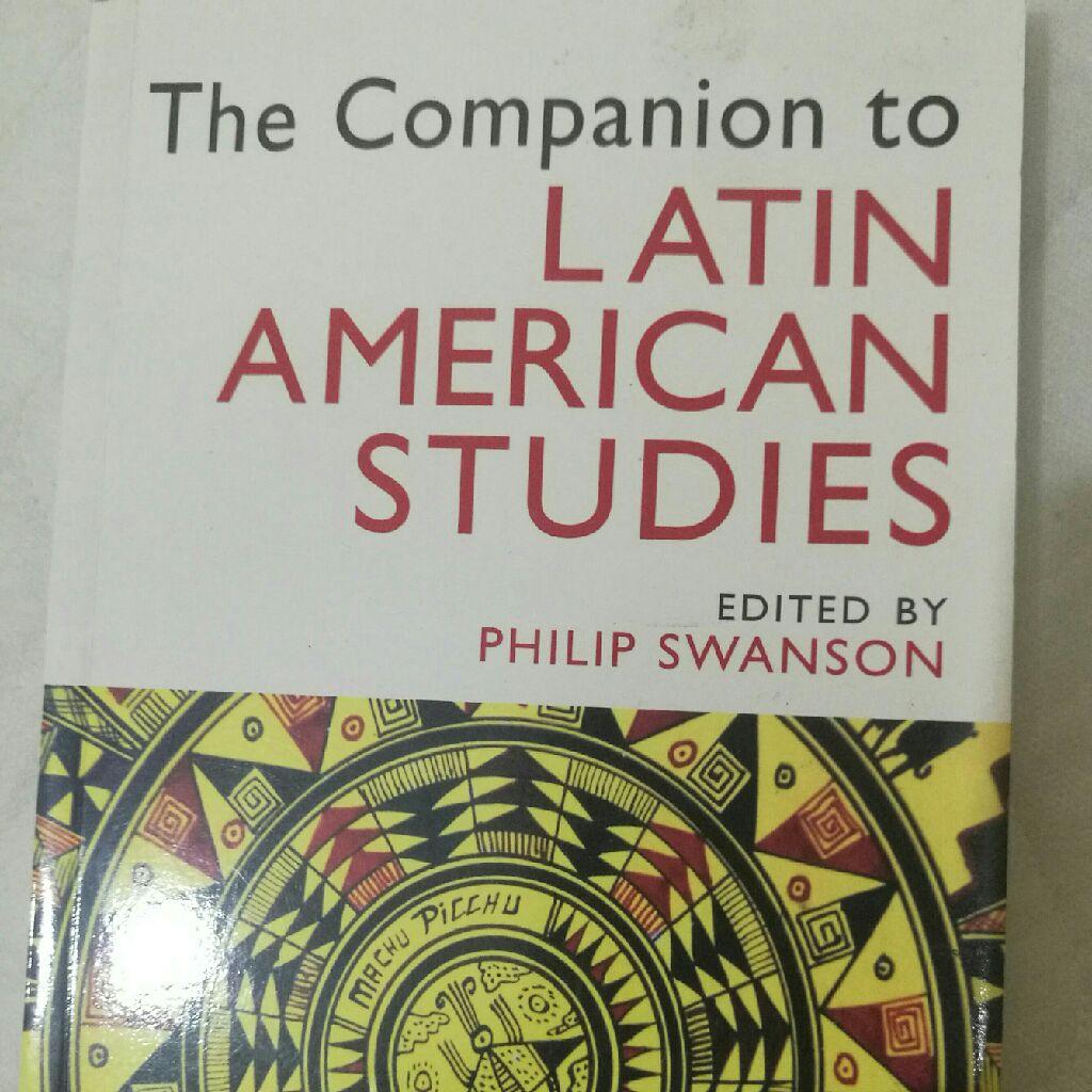 The companion to latin america studies book
