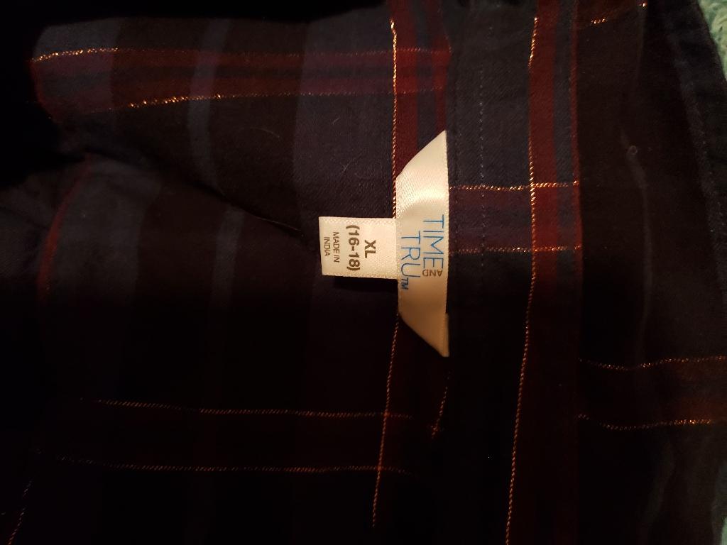 Long Sleeve fashion flannel