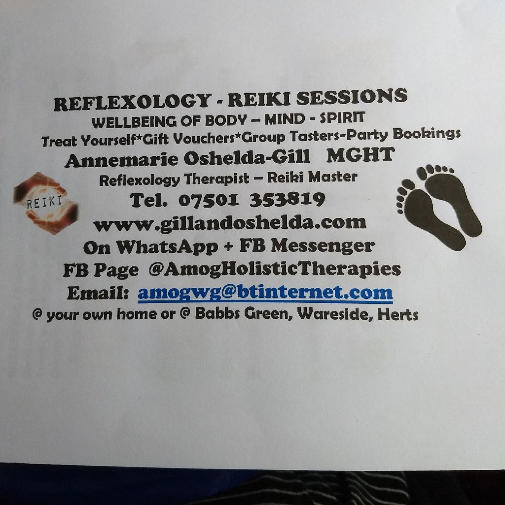 Reflexology. Reiki. Paintings