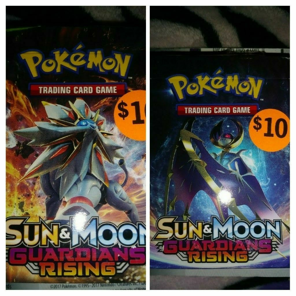 Brand New Pokemon Trading Cards Both For Sale $20.00 Only Please !!