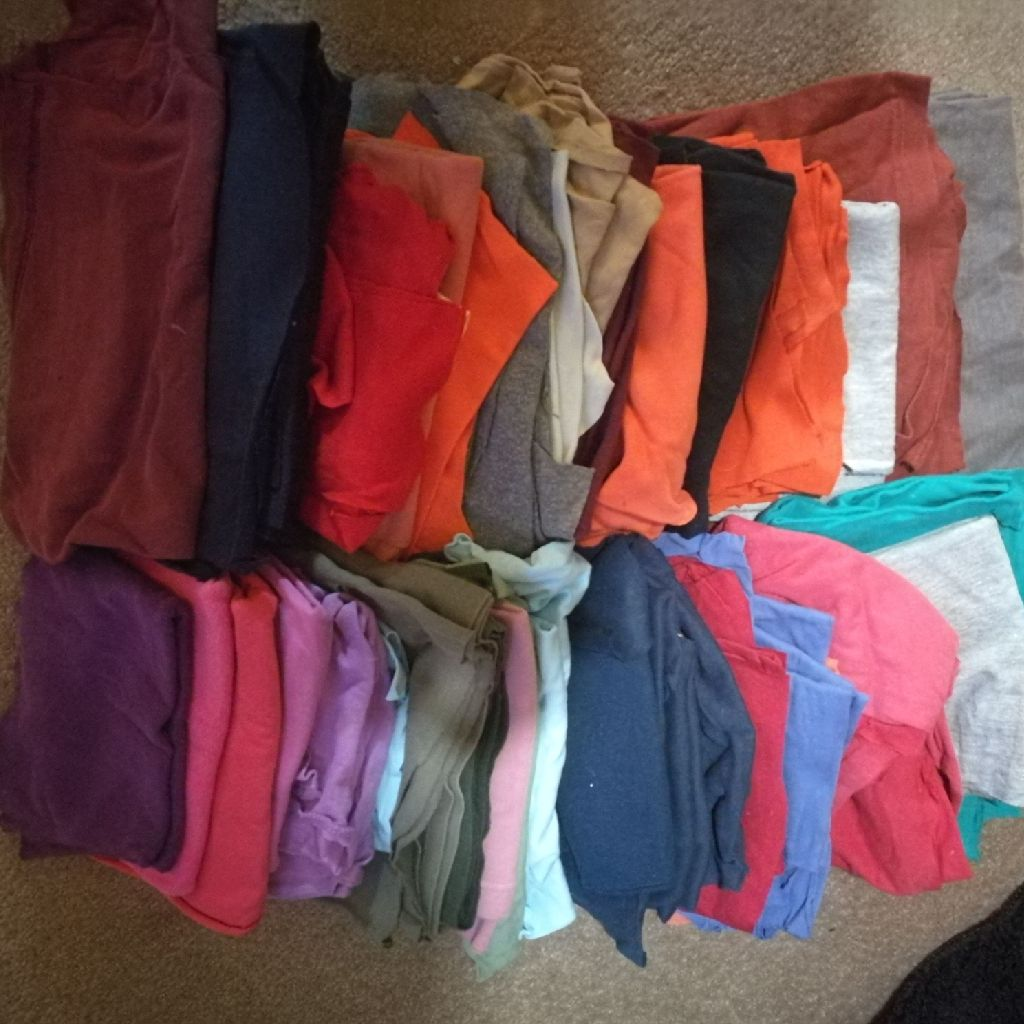 T-shirts...used