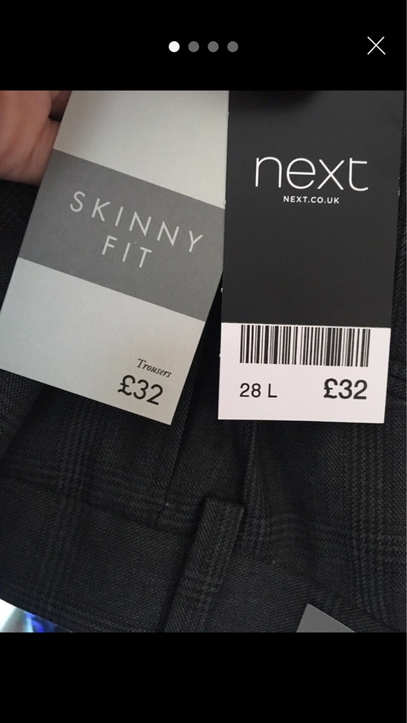 BNWT Men's Next Trousers
