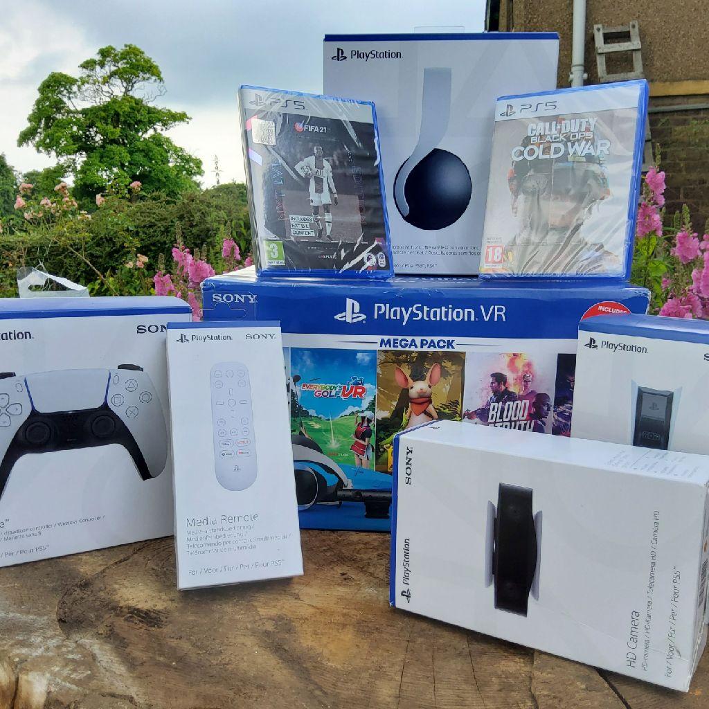 🎮🎮 Brand New, Unopened Playstation 5 Accessories Bundle 🎮🎮