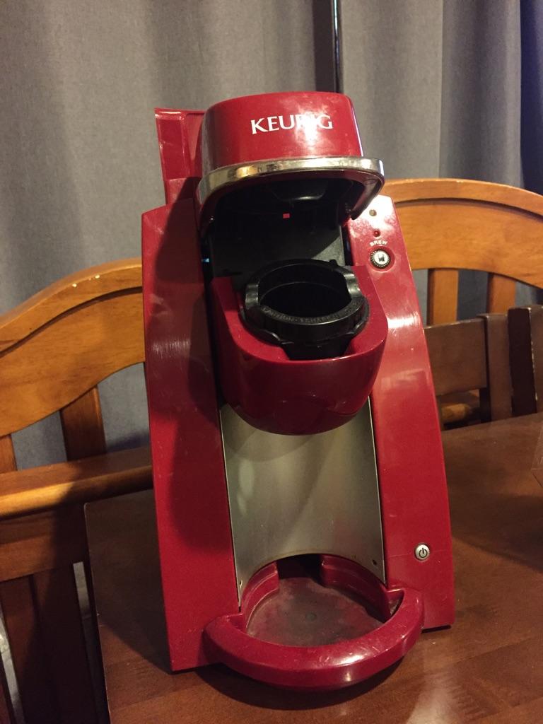 Keurig- single cup