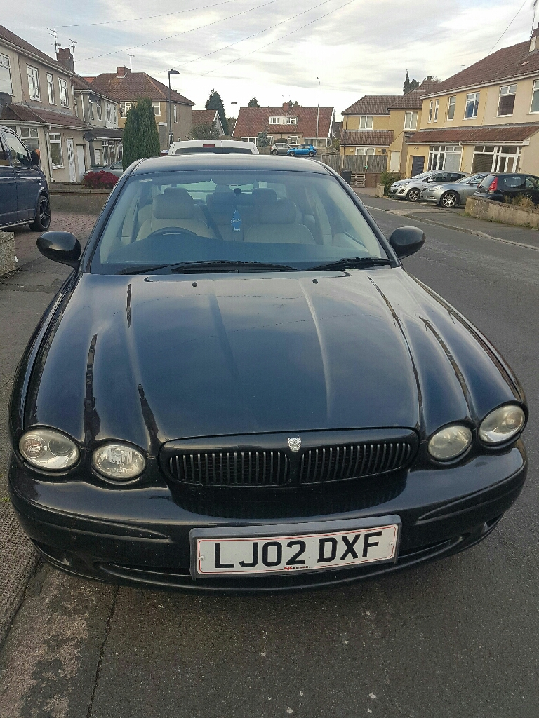 X Type Jaguar in Black