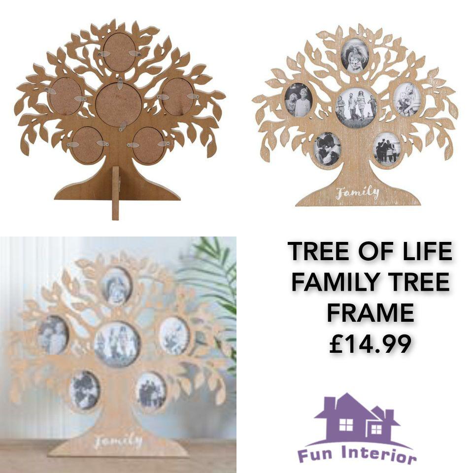 TREE OF LIFE FAMILY TREE FRAME👨👩👧👦🌳
