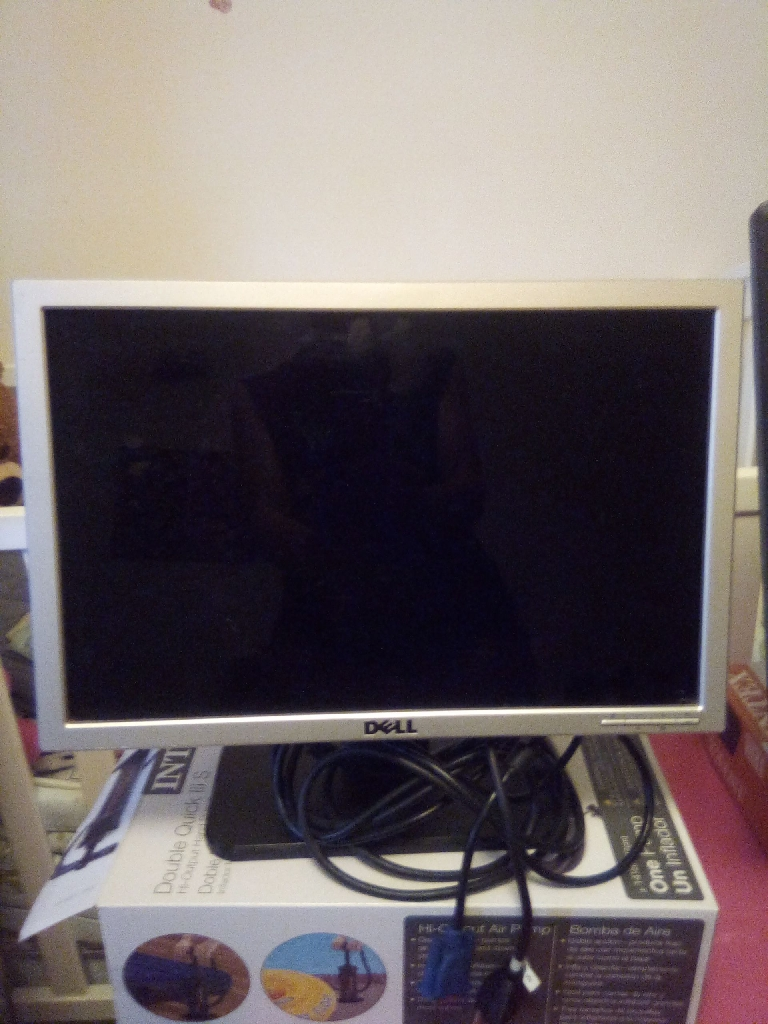 BOTH DELL FLAT SCREEN MONITORS FOR $75