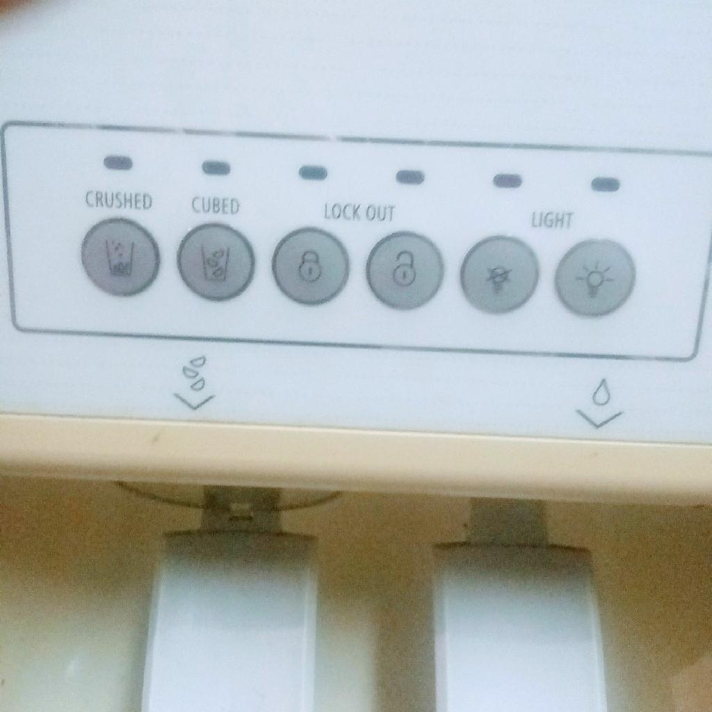 Whirlpool fridge side by side
