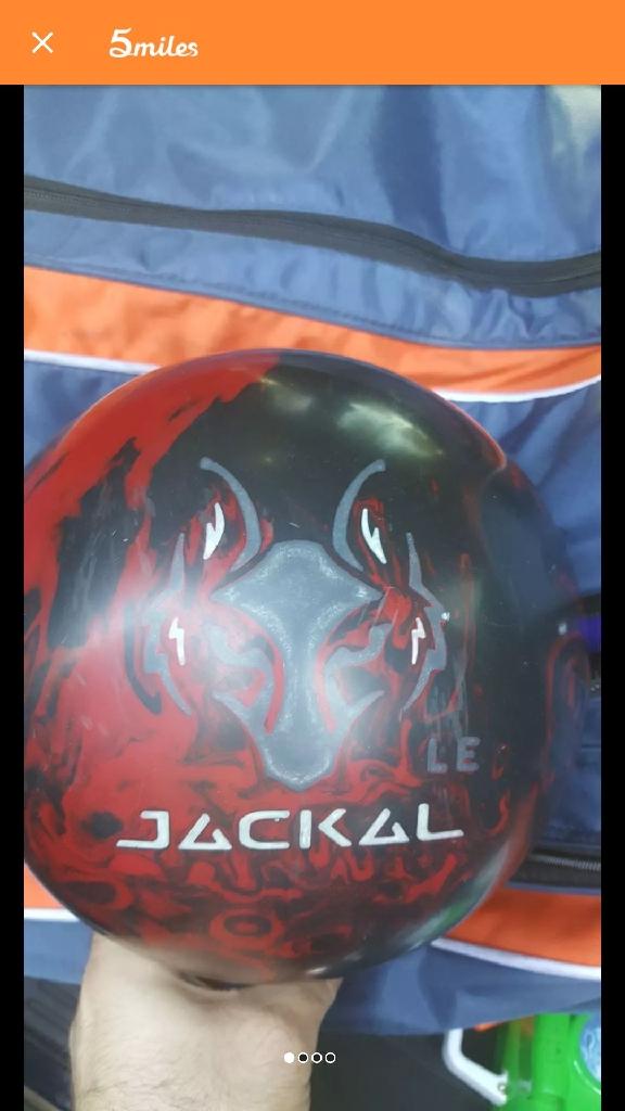 15 lb Jackal LE bowling ball