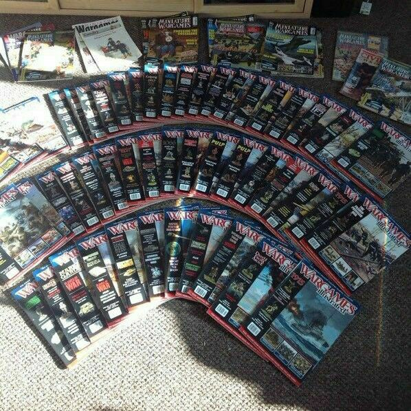 Joblot of War games miniature magazines