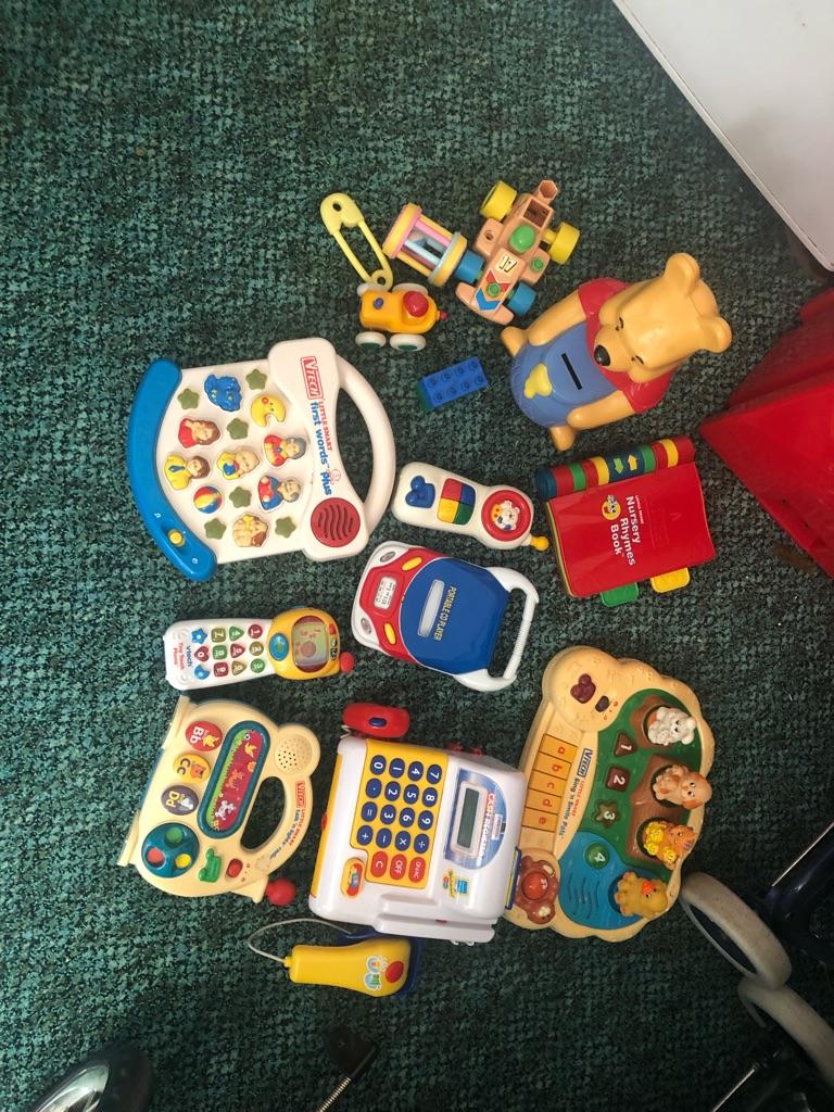 Selection of vetch toys
