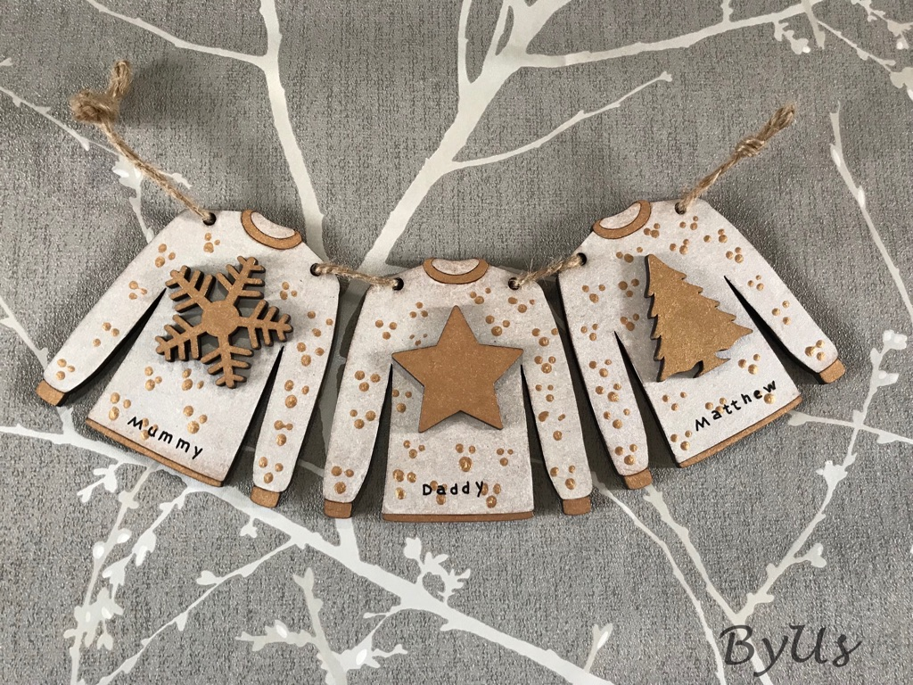 Christmas jumper bunting