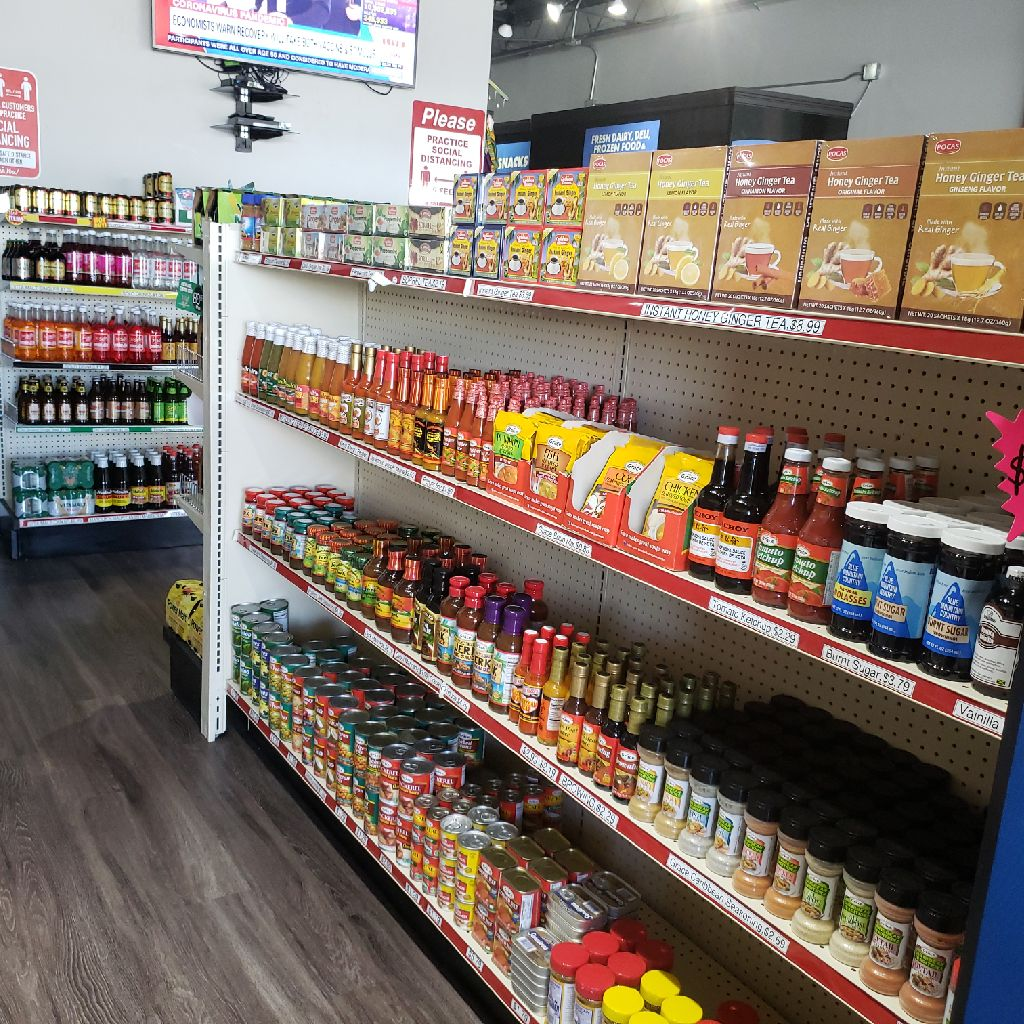 African caribbean food products