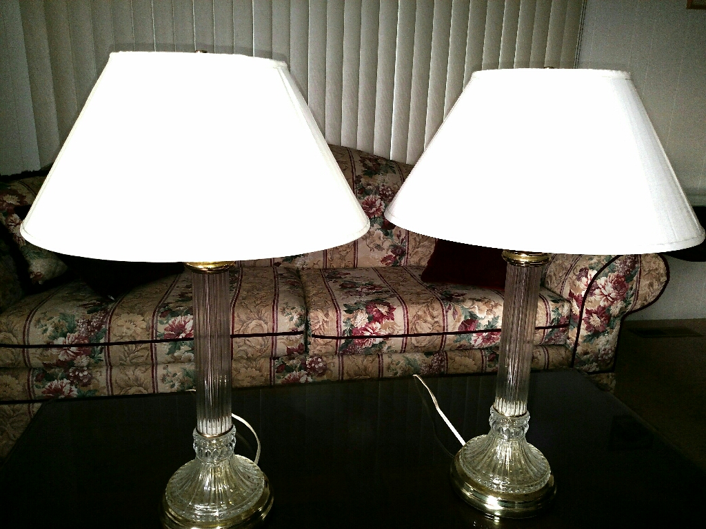 2 Piece Lamp Set