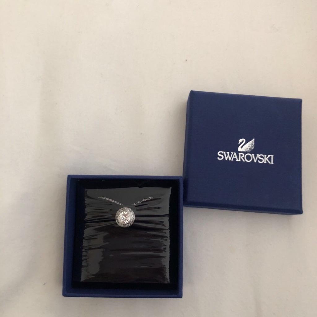 New Swarovski Silver Necklace