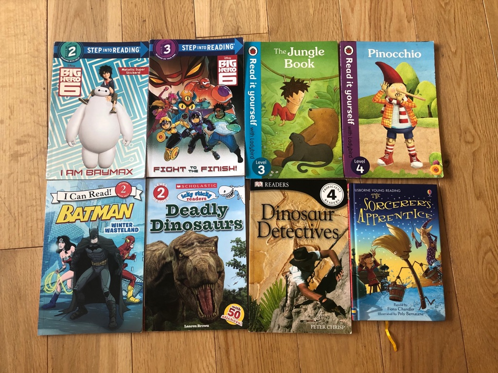 Young reader books