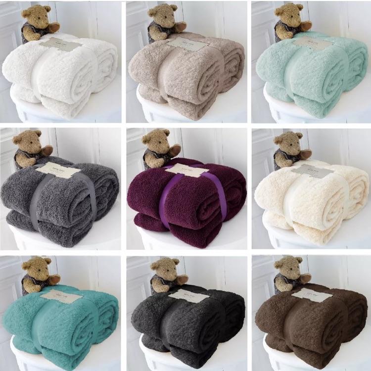 Teddy bear fluffy blankets