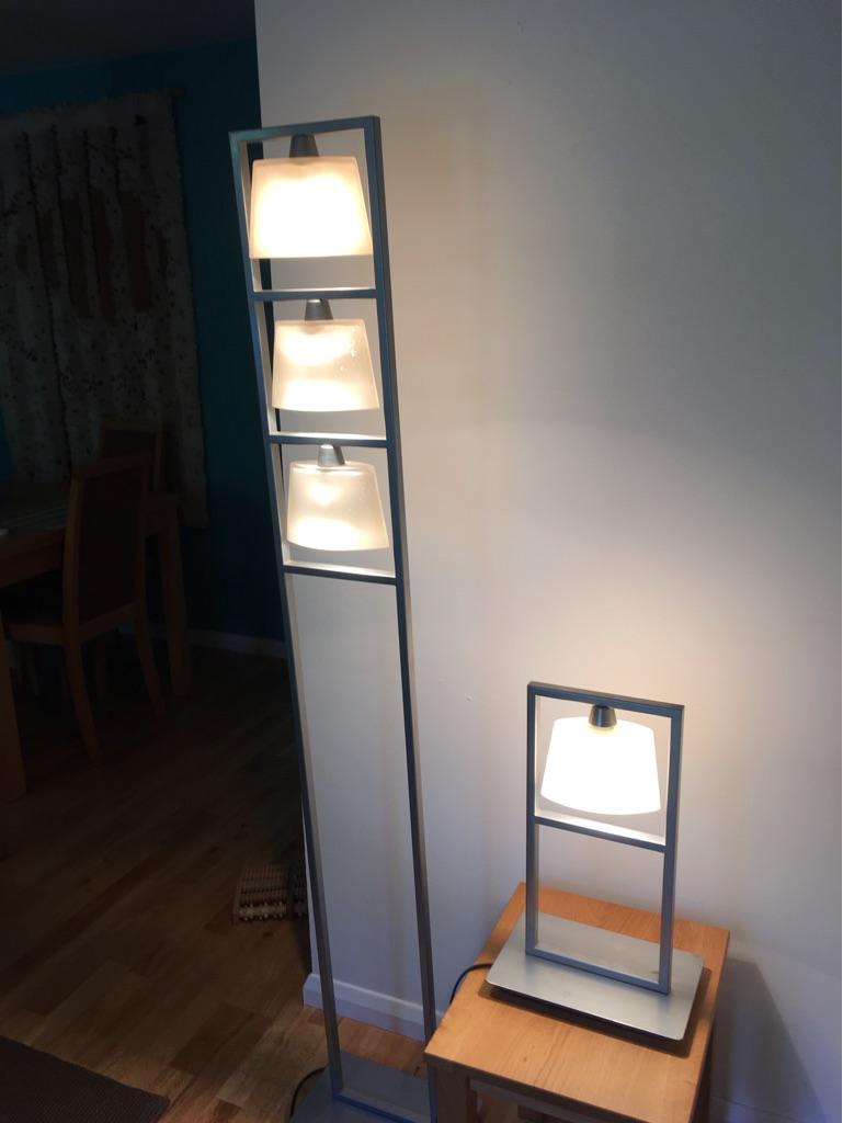 2 x John Lewis stand lights