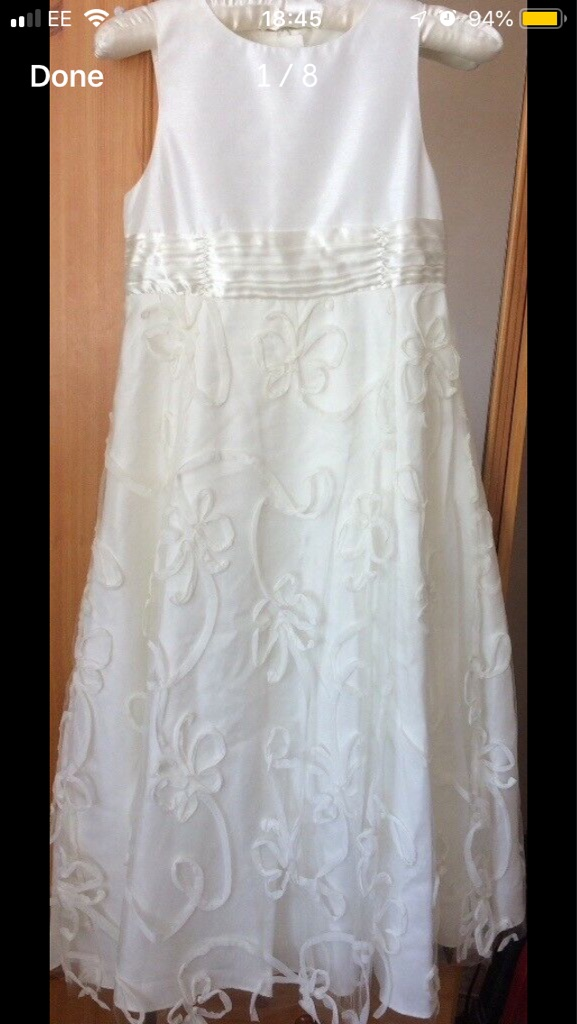 Bridesmaid Dress Ivory