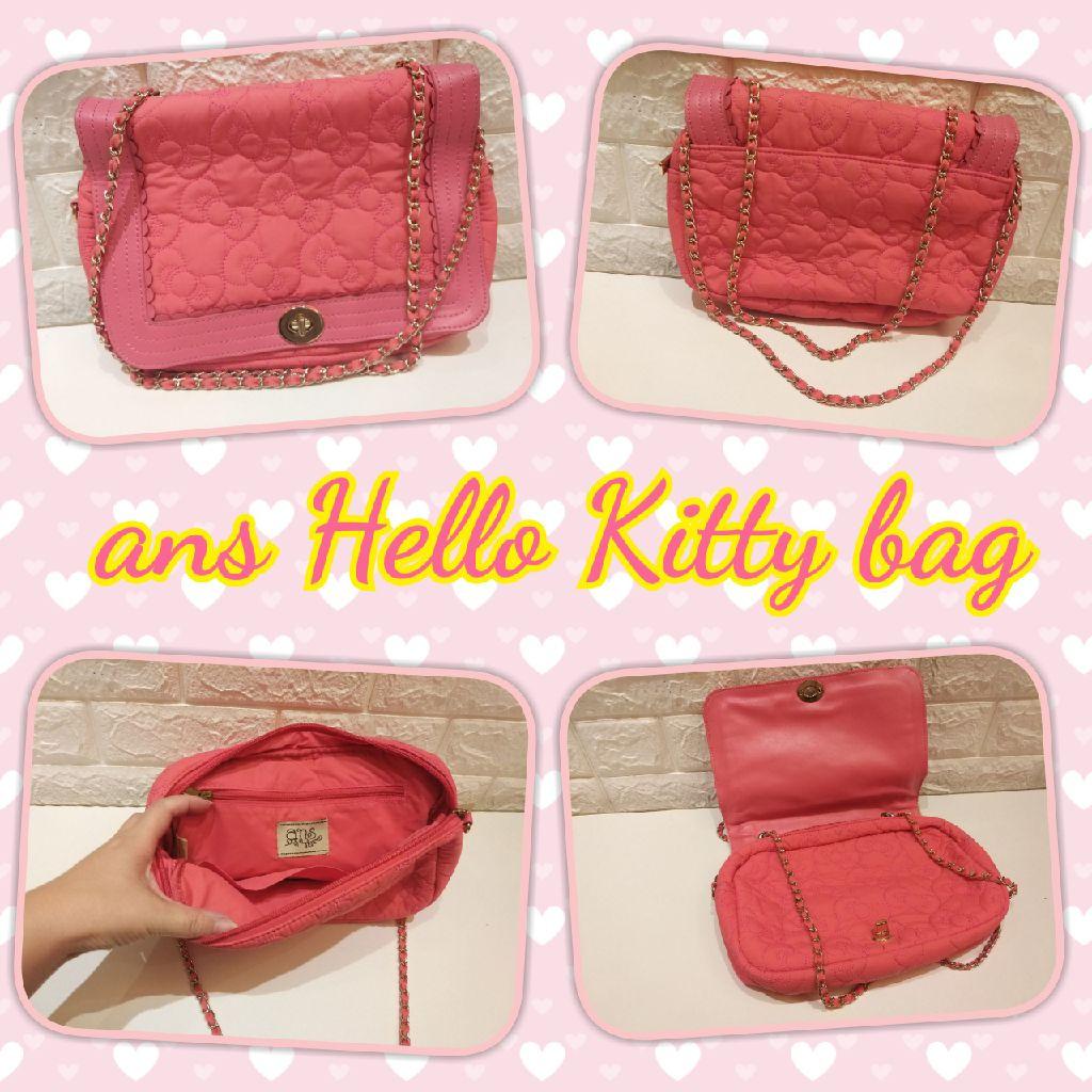 Ans hello kitty hand bag