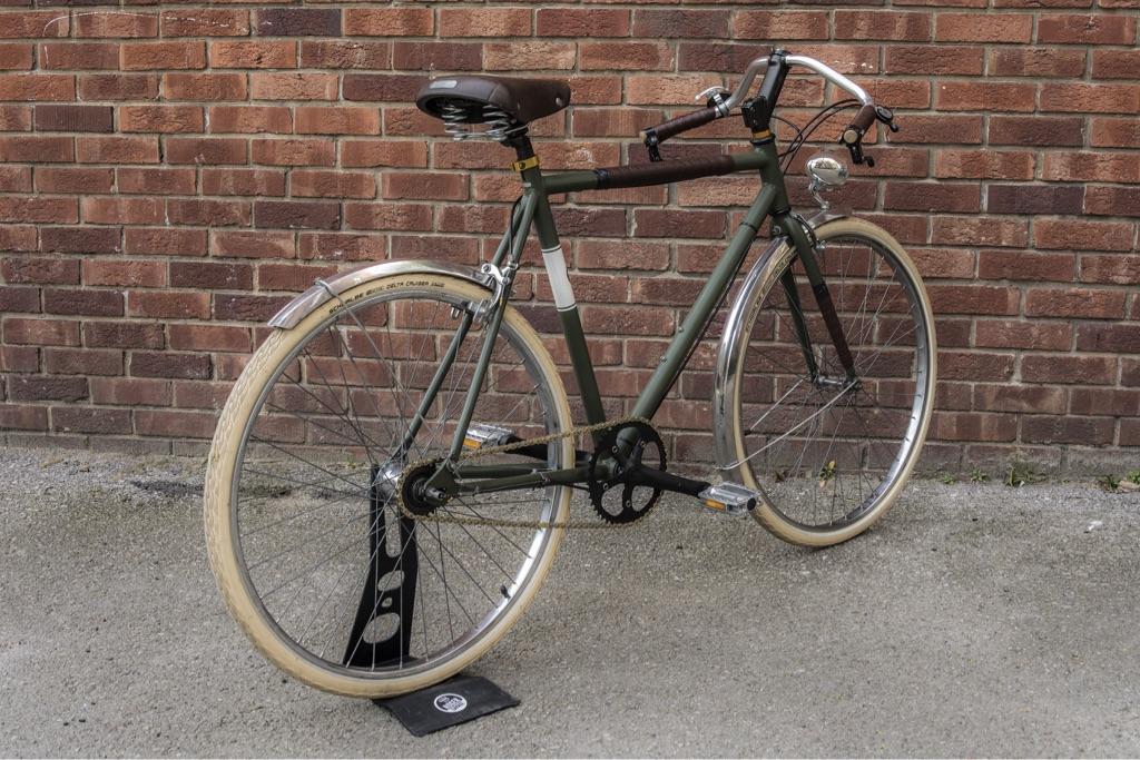 Vintage bikes city Racer