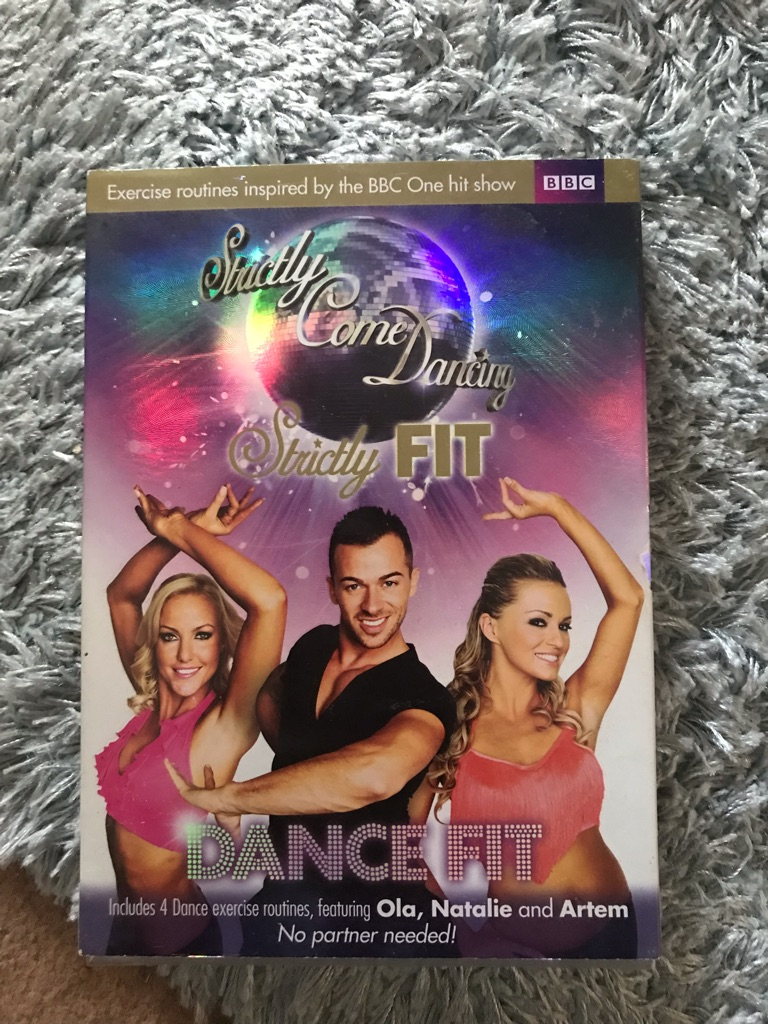 """Brand new! Strictly come dancing """"dance fit"""" dvd"""