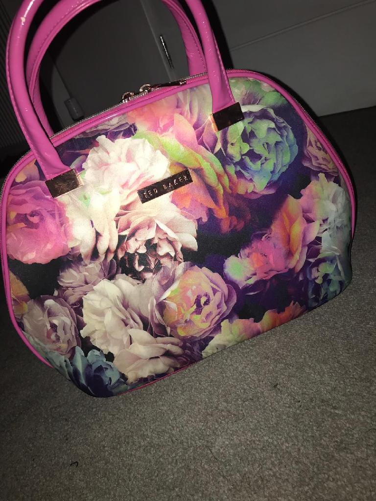 Woman's ted baker makeup bag