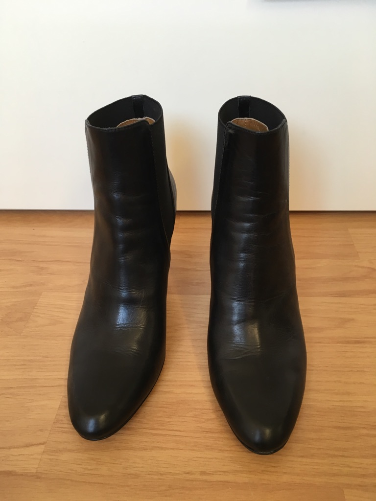 Black ankle boots from Hobbs - size 41 unworn
