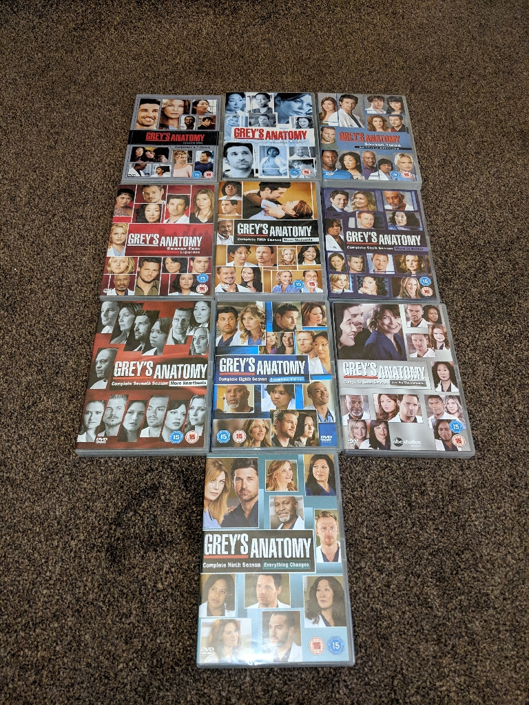 Greys Anatomy Season 1-10