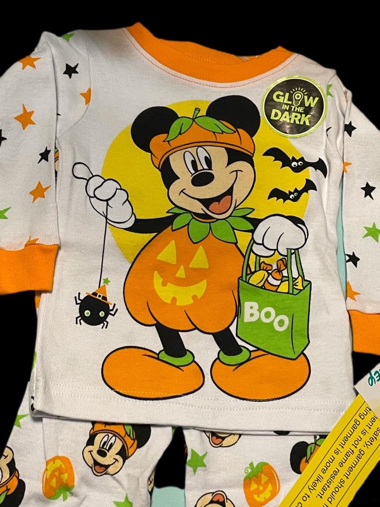 Disney Mickey Mouse Halloween Pajamas Size6-9M