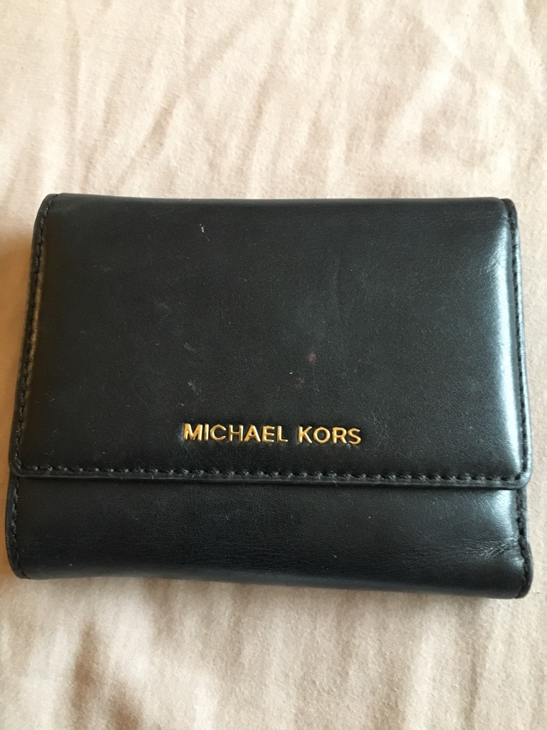 Michael cors leather wallet