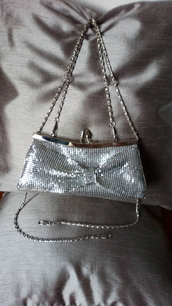 Leko of London Silver Clasp Occasion Bag