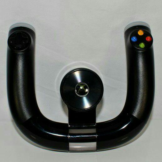 Microsoft Xbox 360 xbox wireless speed wheel with a game