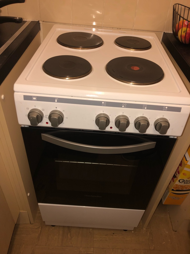 Electric cooker used once