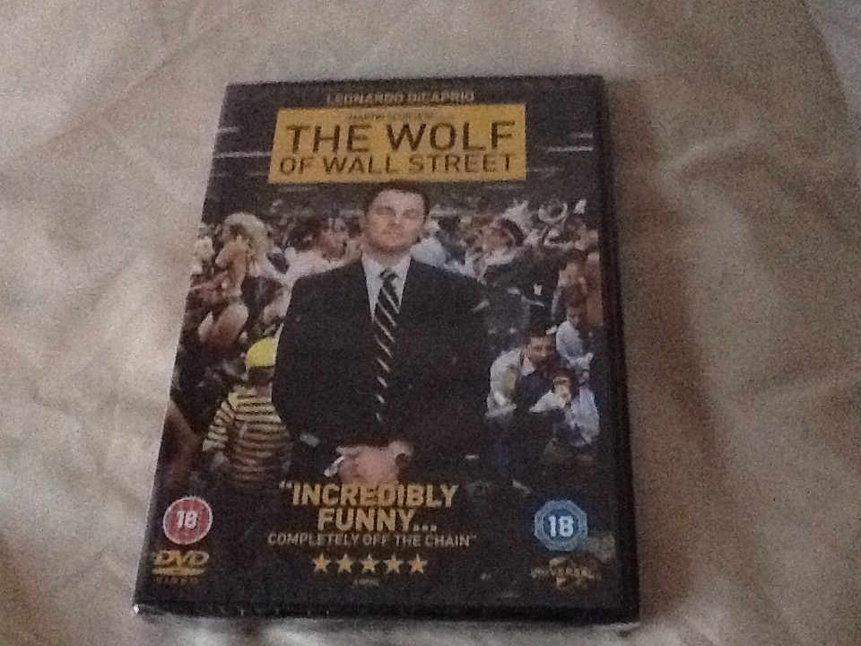 The wolf of wolf street DVD (still in shrink wrap)