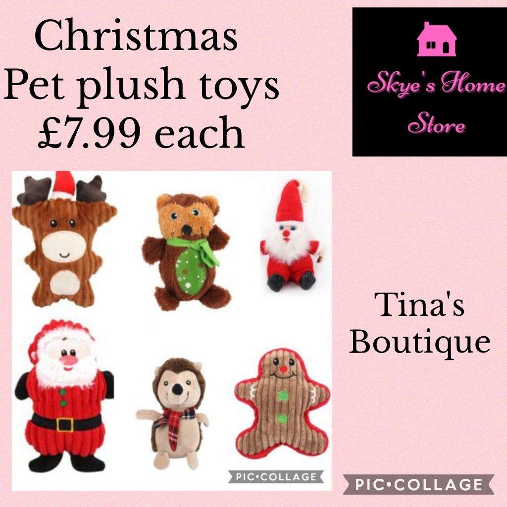 Christmas Pet plush toys
